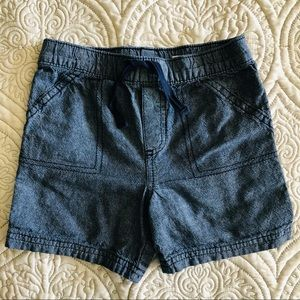 First Impressions Blue Chambray Shorts Size 24M
